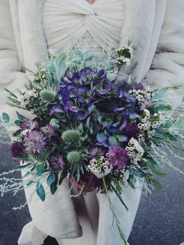 Hot New Wedding Trend Ultra Violet Pantone Colour Of