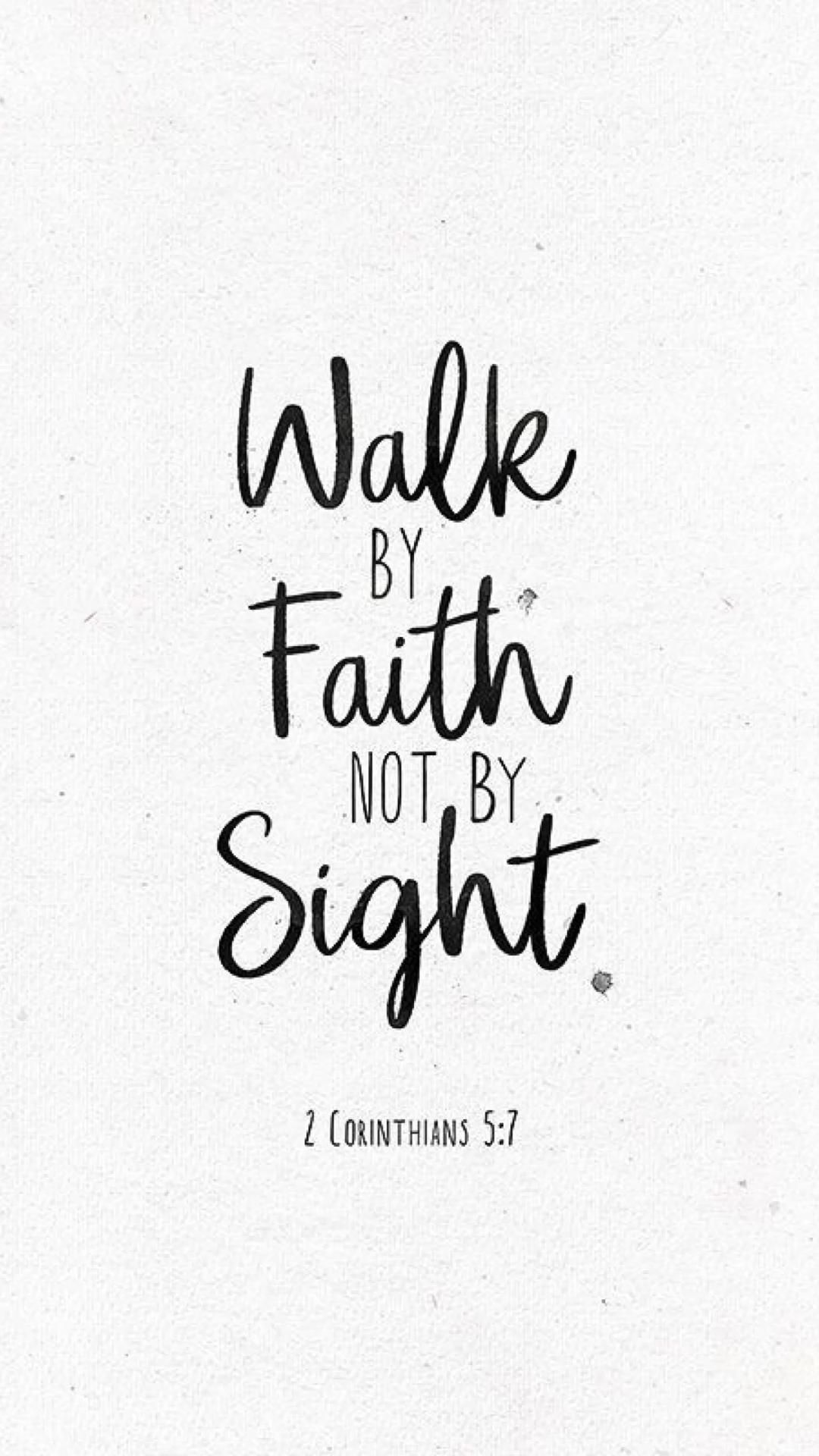 Walk in faith! God knows what you need!💗  #faith #God #quote #hope #positive