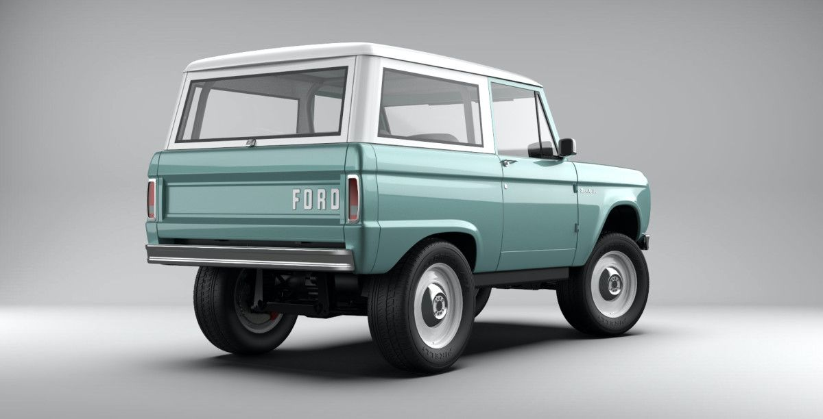 Zero Labs Previews Their Electric Bronco In Factory Licensed Steel