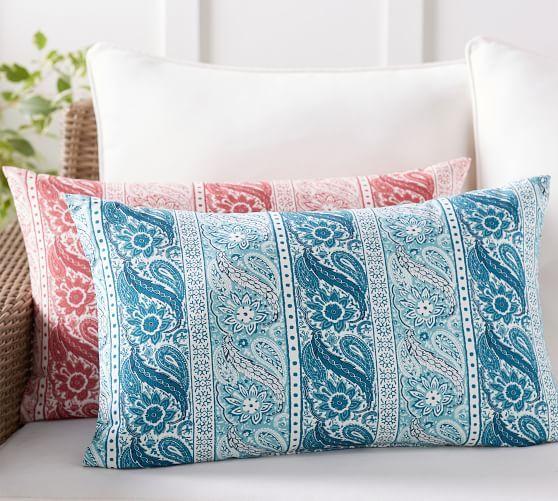 Indoor Outdoor Quinta Print Lumbar Pillows Lumbar Pillow