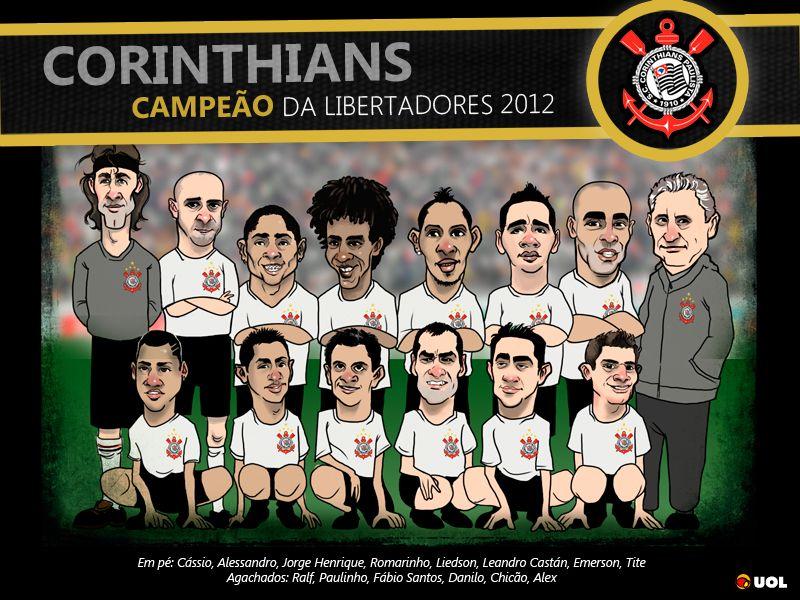 Caricatura Do Corinthians Campeao Da Libertadores Posteres Campeoes Da Libertadores Campeao Libertadores 2012