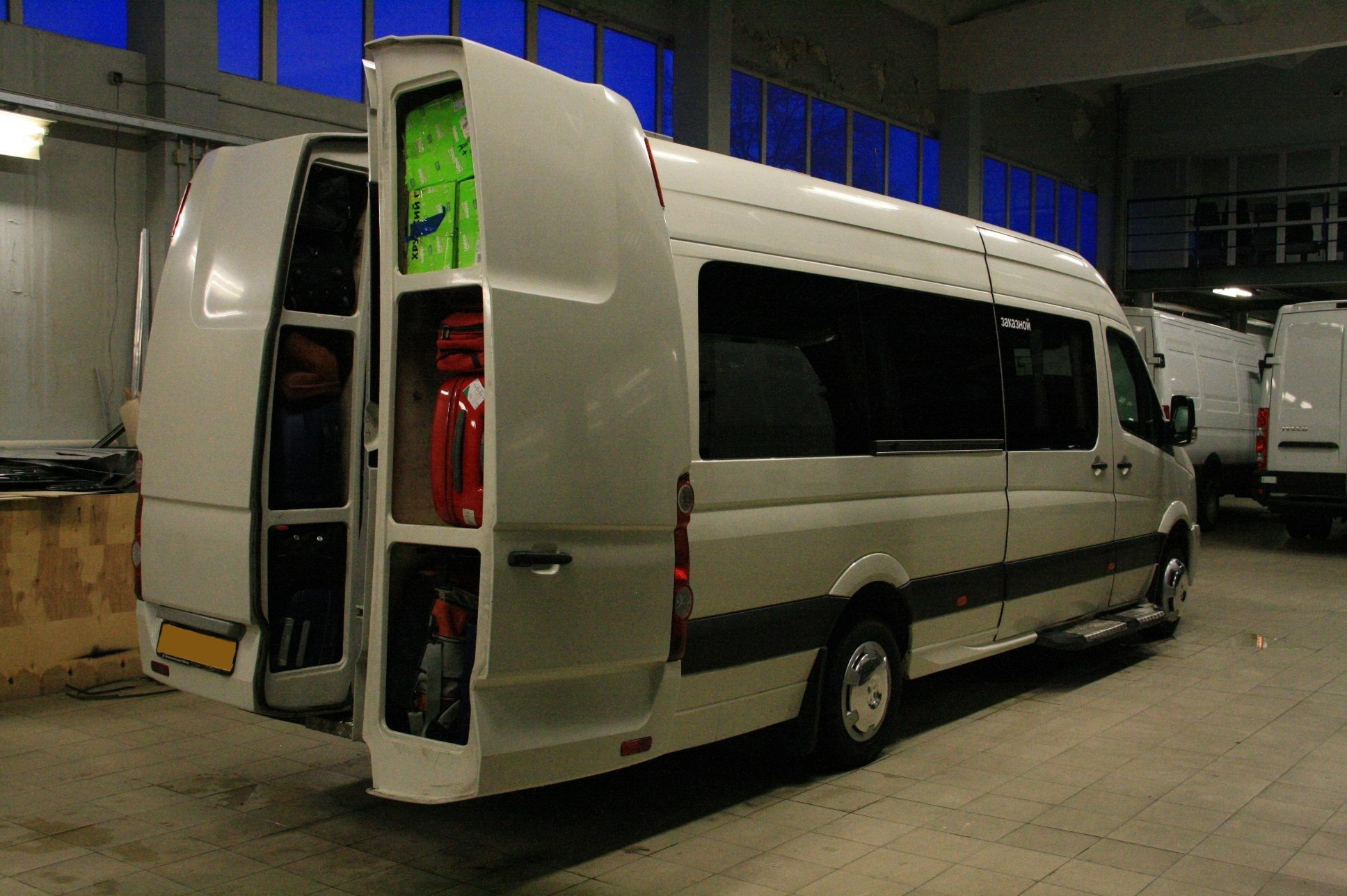 Reardoor Backpack Vw And Mb I Selling This Write Me Sprinter Van Crafter Wohnmobil Vw Crafter Wohnmobil