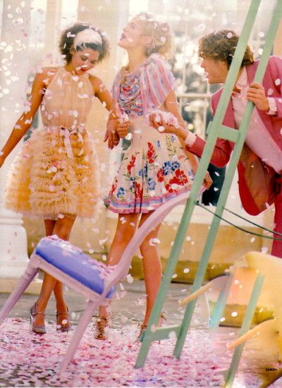 ruffles fashion///let's have a party
