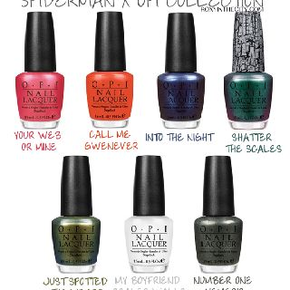 Spiderman OPI Collection