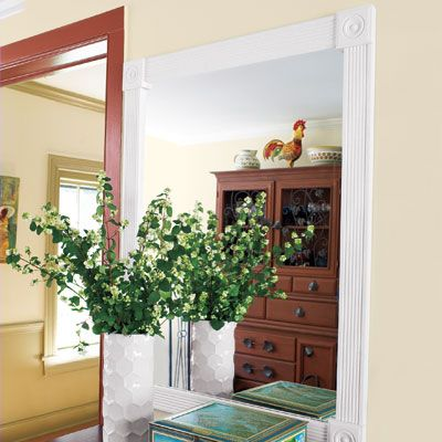 Beautify Your Home With Crown Molding And Other Trim Upgrades | Moldings,  Cozy Office And Crown Molding Mirror