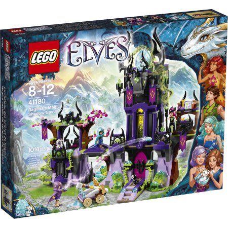 Lego Elves Ragana's Magic Shadow Castle 41180, Multicolor | Elves ...