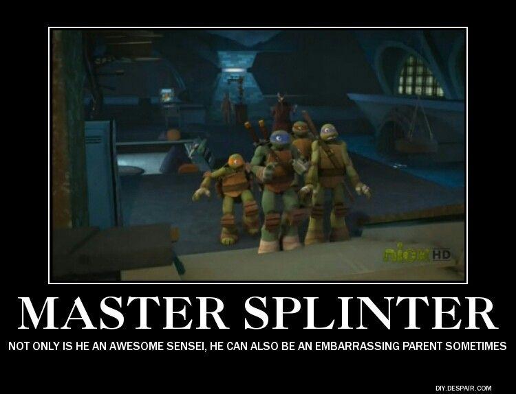 Master Splinter Meme
