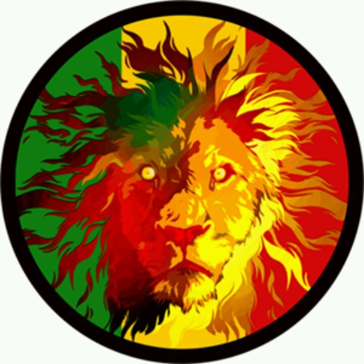 Lion of judah sticker decal vinyl rasta rastafari jamaica reggae vw car skate