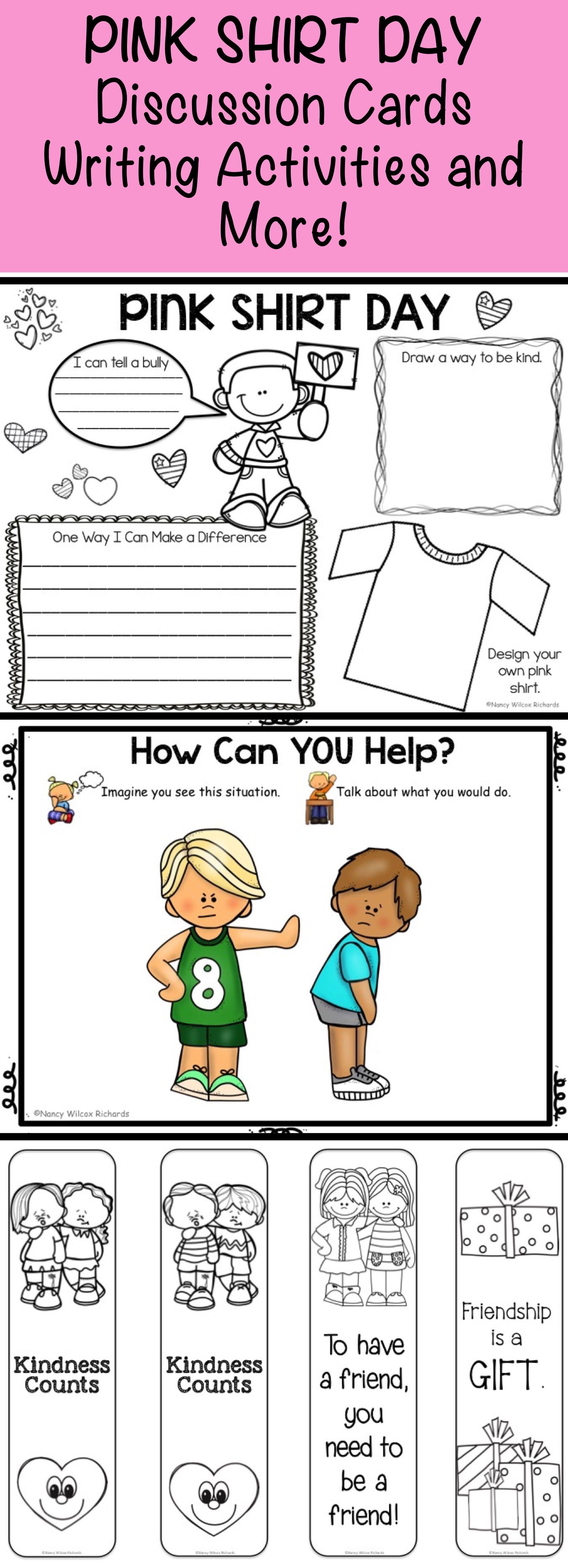 Anti Bullying Activities And Pink Shirt Day Activities