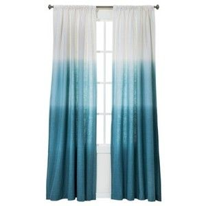 Charming Blue Ombre Curtains   Target, Option For Eat In Kitchen Area.