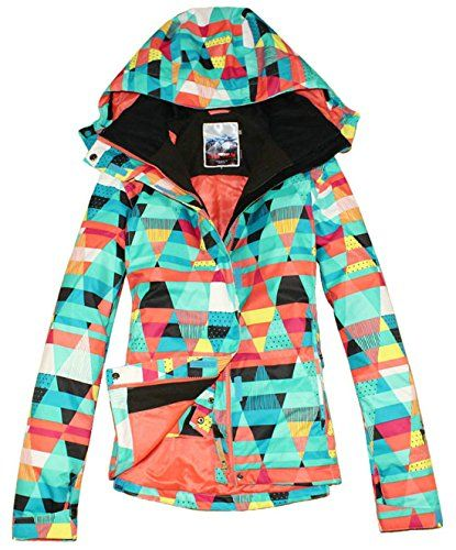 10d6c6f155 APTRO Women s High Windproof Technology Colorfull Printed Ski Jacket Style   15 Size XS APTRO http