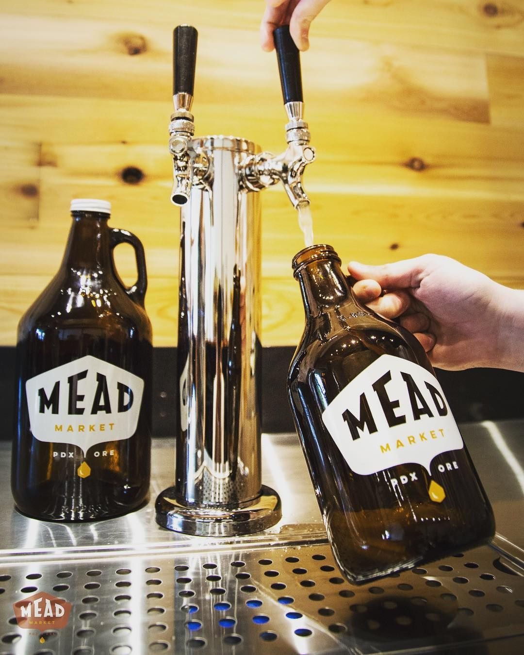 If you're in Portland, Oregon, stop in to Mead Market on SE Hawthorne for mead tasting and growler fills!