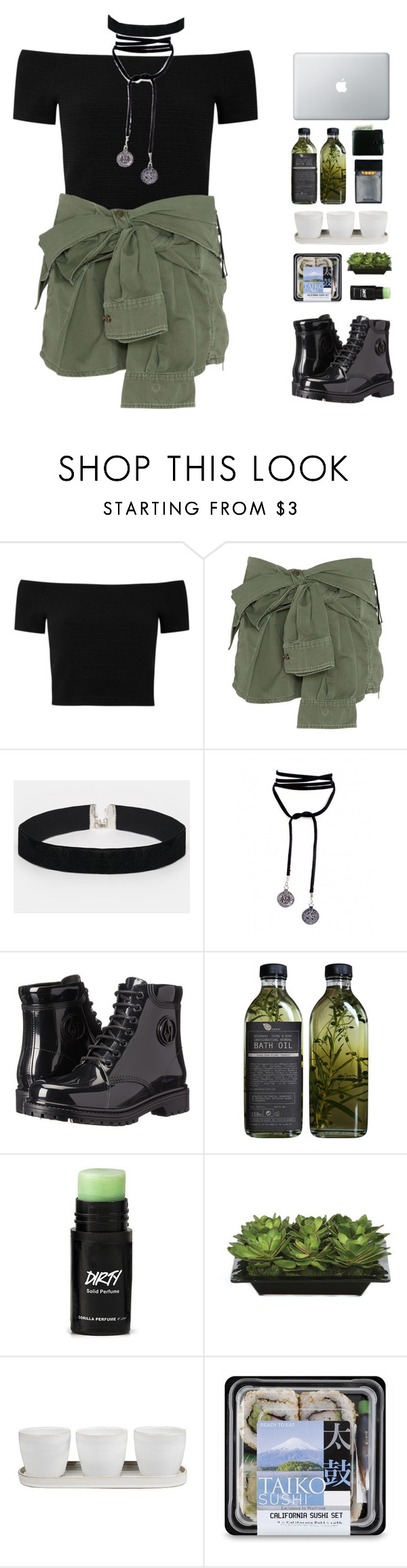 """Arctic Monkeys"" by lanadelnotyou ❤ liked on Polyvore featuring Alice + Olivia, Faith Connexion, ASOS, Armani Jeans, Lux-Art Silks and Threshold"
