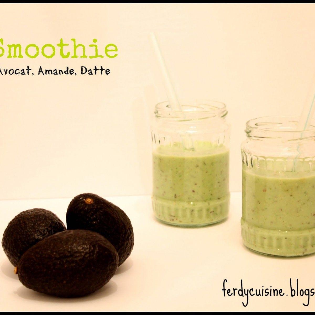 Smoothie Avocat & Fruits secs