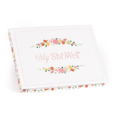 Botanical Bridal Shower Guest Book