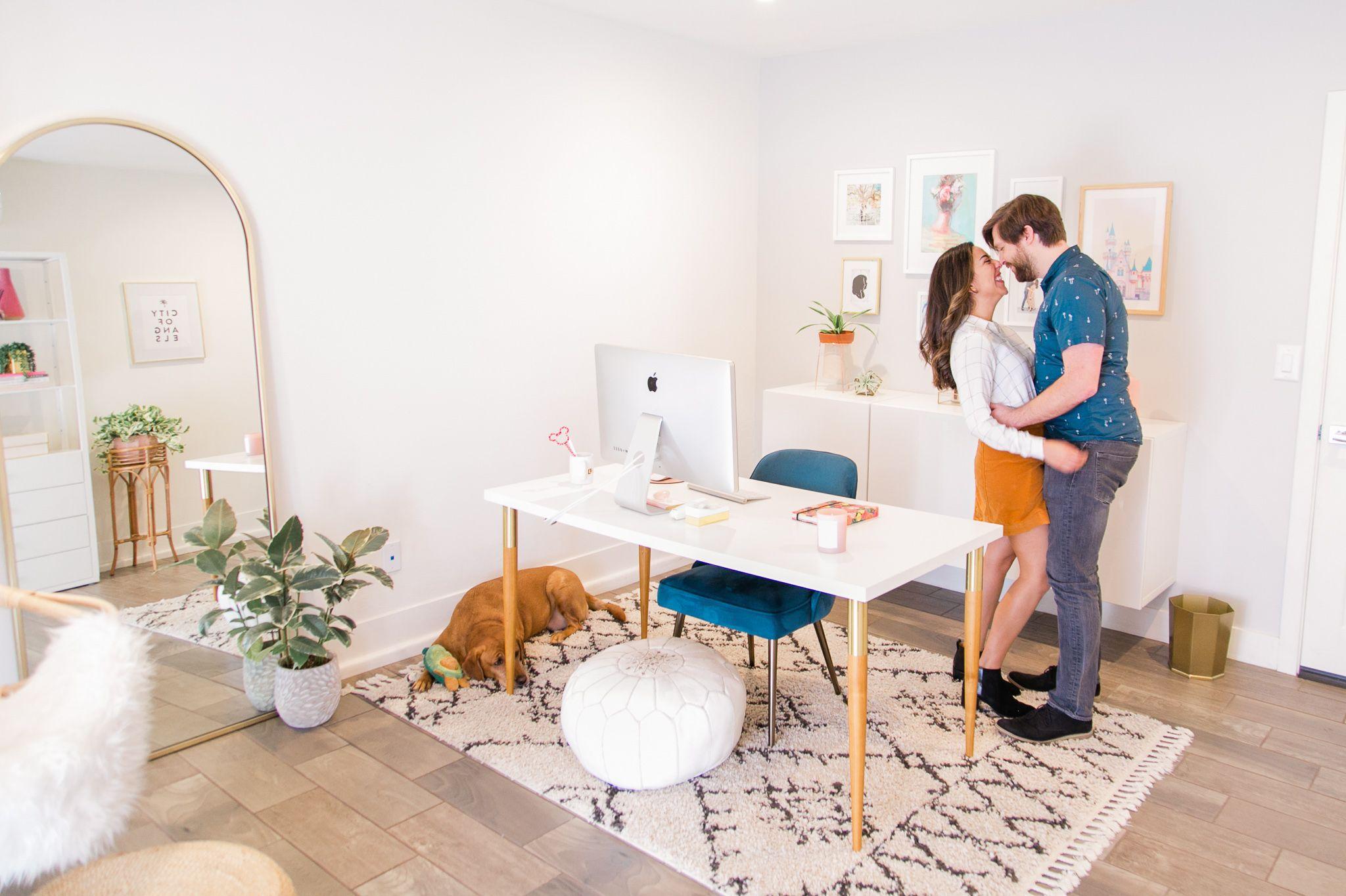My Minimal California Inspired Home Office Emmygination Home Office Decor Home Office Design Home