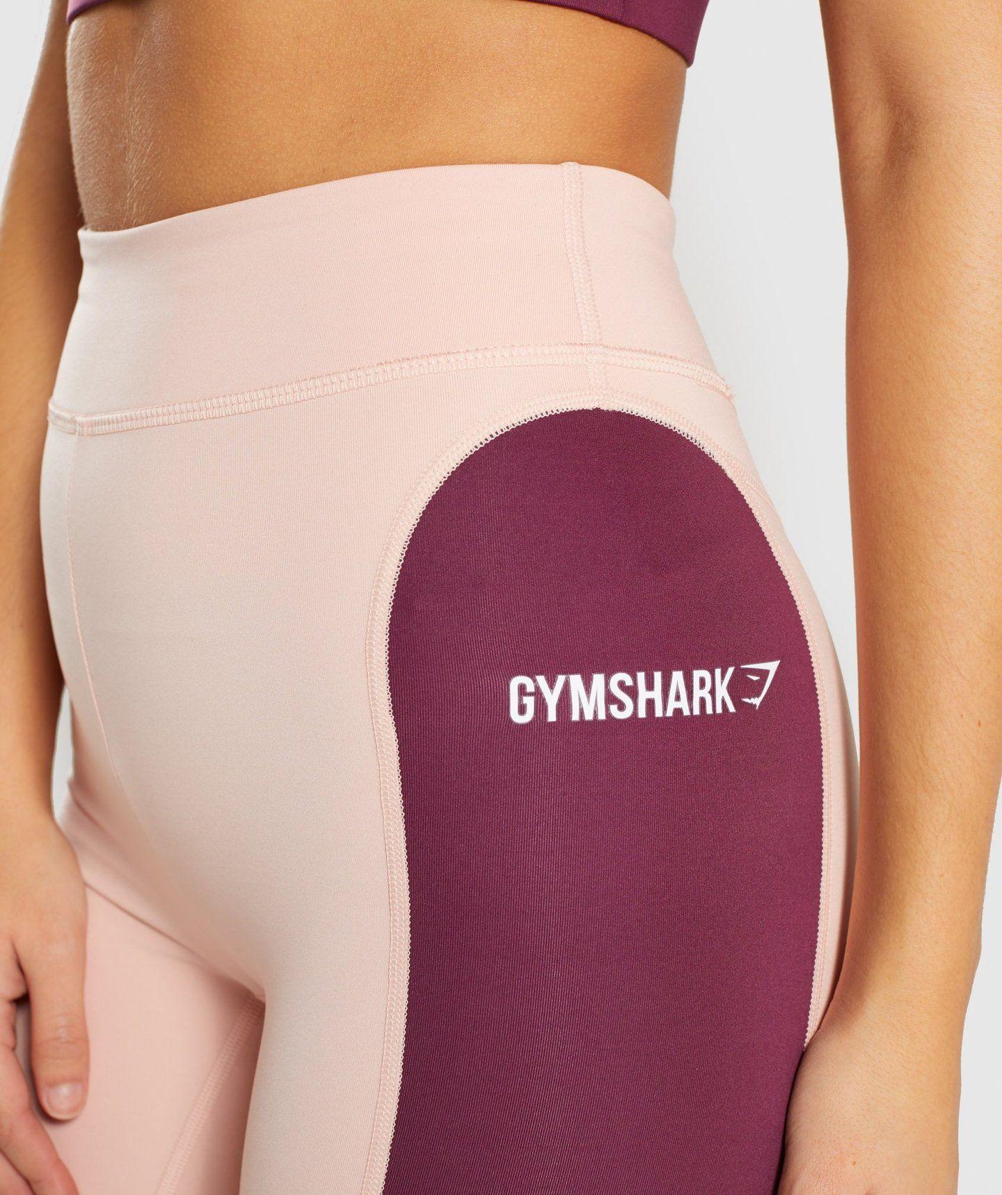 be05d31a83971 Gymshark Illusion Leggings - Dark Ruby Blush Nude Slate Lavender 4