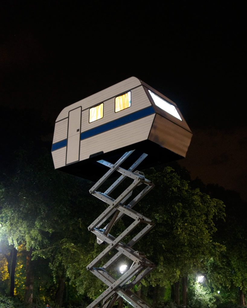 Is It An Rv Is It A Treehouse Either Way We Want One Posted 01