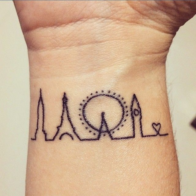 "LITTLE TATTOO LOVE ♡ on Instagram: ""Cute tattoo on @jenkins87 💕"""