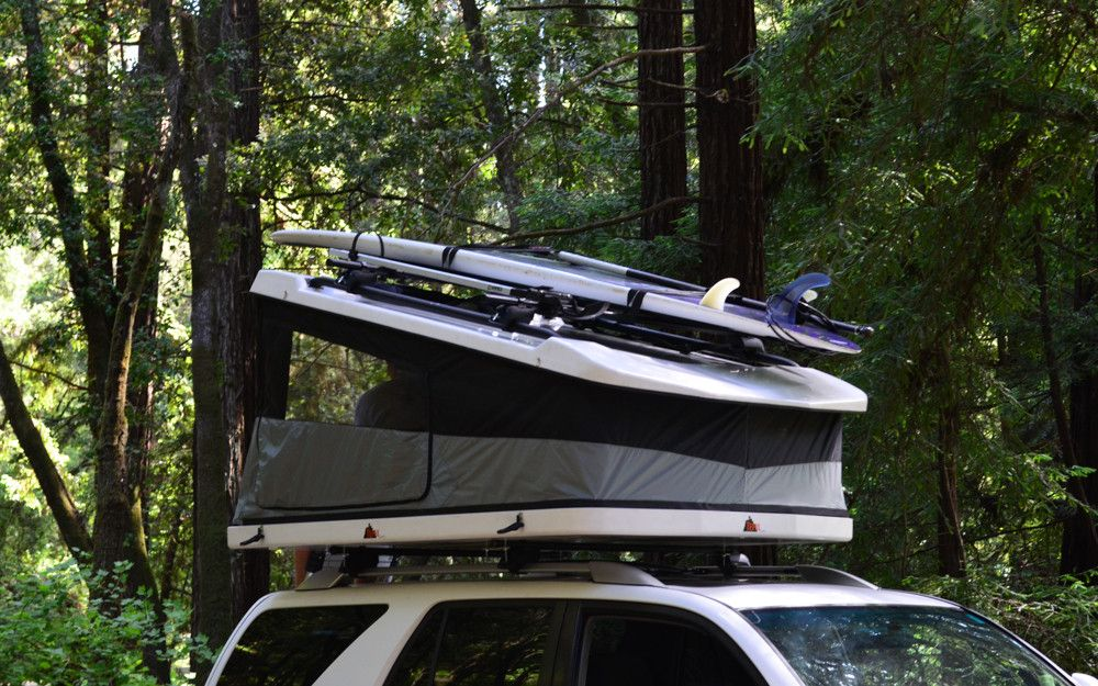 Roof top tent & White Lightning | Roof top tent