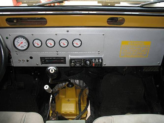 Yj Custom Dash Ideas Jeep Yj Custom Jeep Cheap Interior