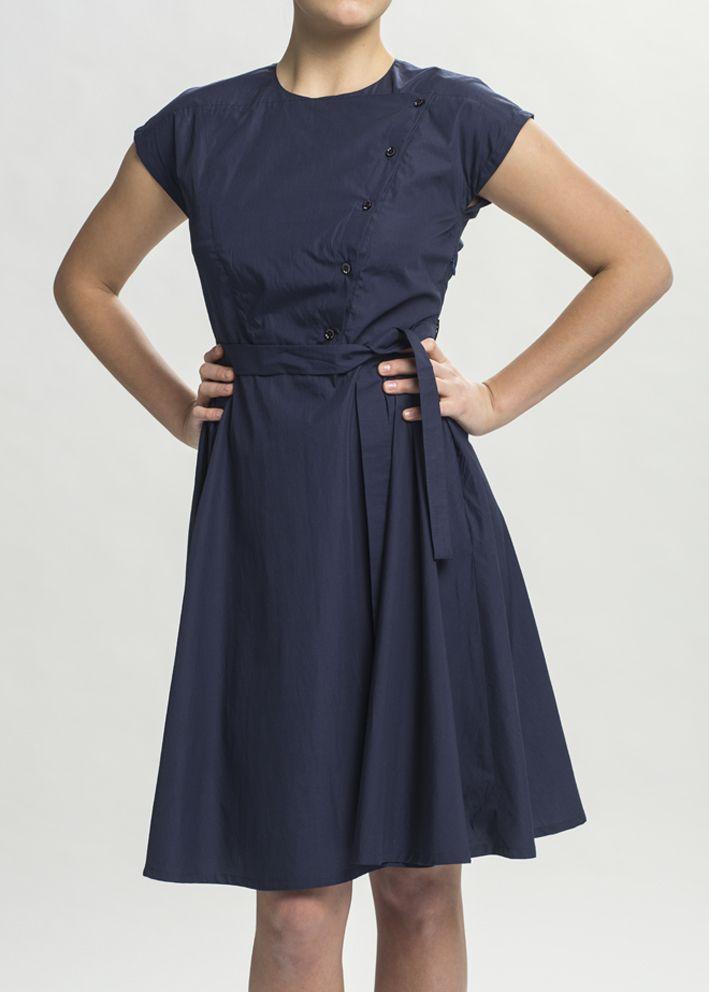 šaty CECÍLIE modré