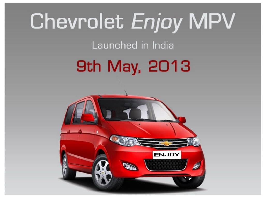 Stuff You Should Know About Chevrolet Enjoy When Considering To