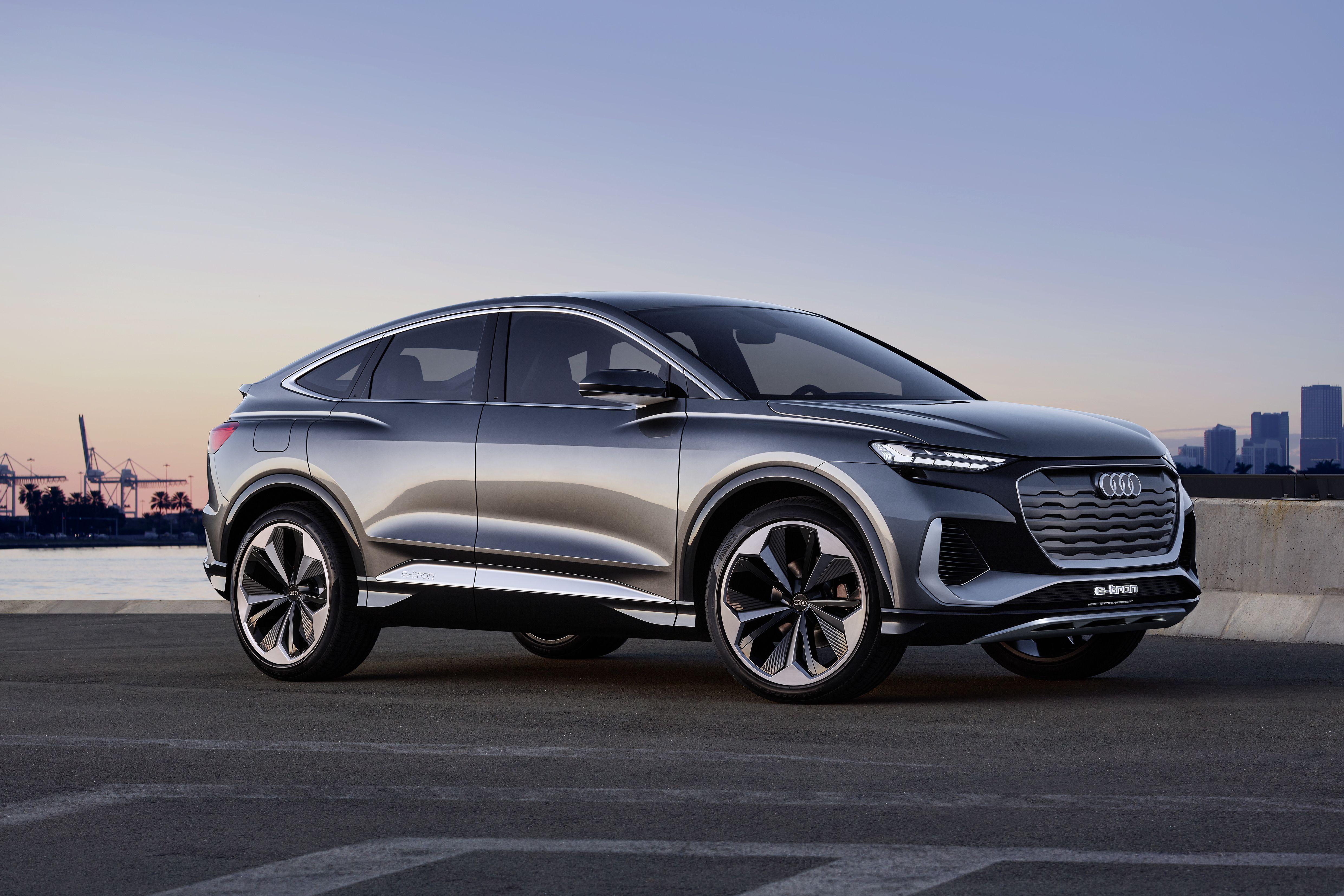 2020 Audi Q4 Sportback E Tron Concept Top Speed In 2020 Audi Q4 Audi E Tron Tron