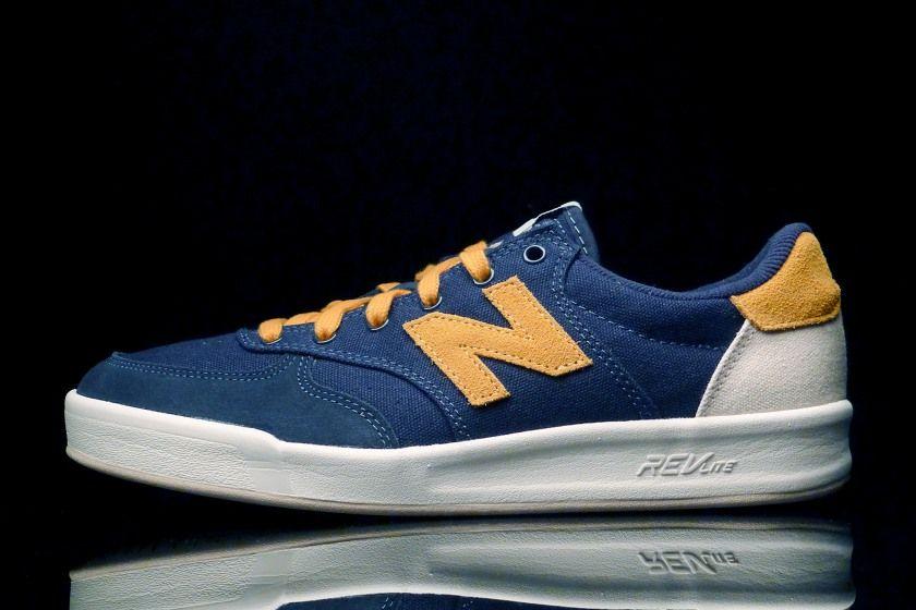 New Balance CRT300 Navy - Yellow.