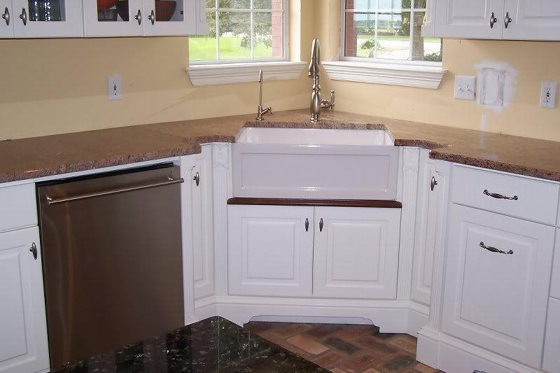 Corner Sink With Windows Corner Sink Kitchen Corner Sink Kitchen Layout