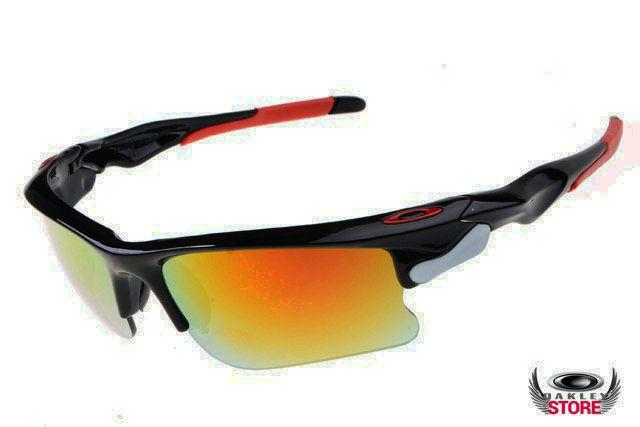 d584954904 Oakley Fast Jacket sunglasses black   fire iridium for sale