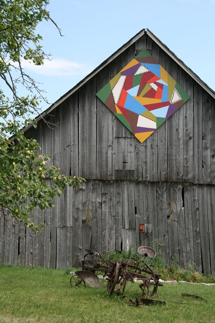 Wisconsin Barns Door County Wi Barn Barn Quilts