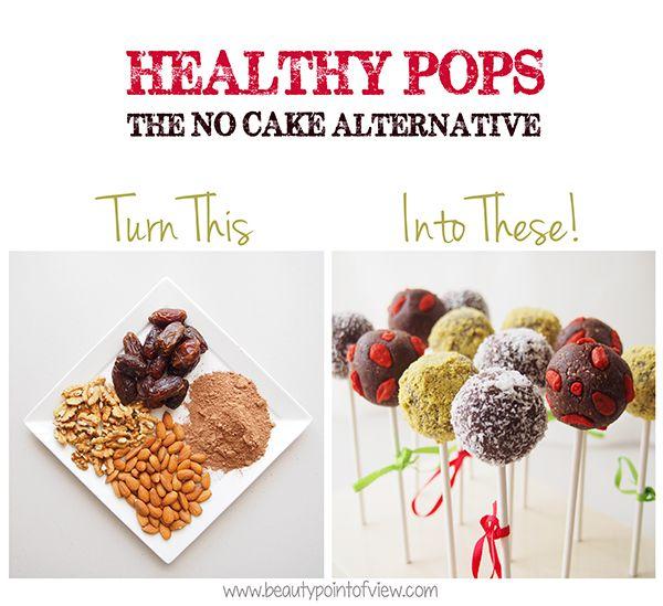 Healthy Pops The NoCake Alternative No baking no sugar no oil
