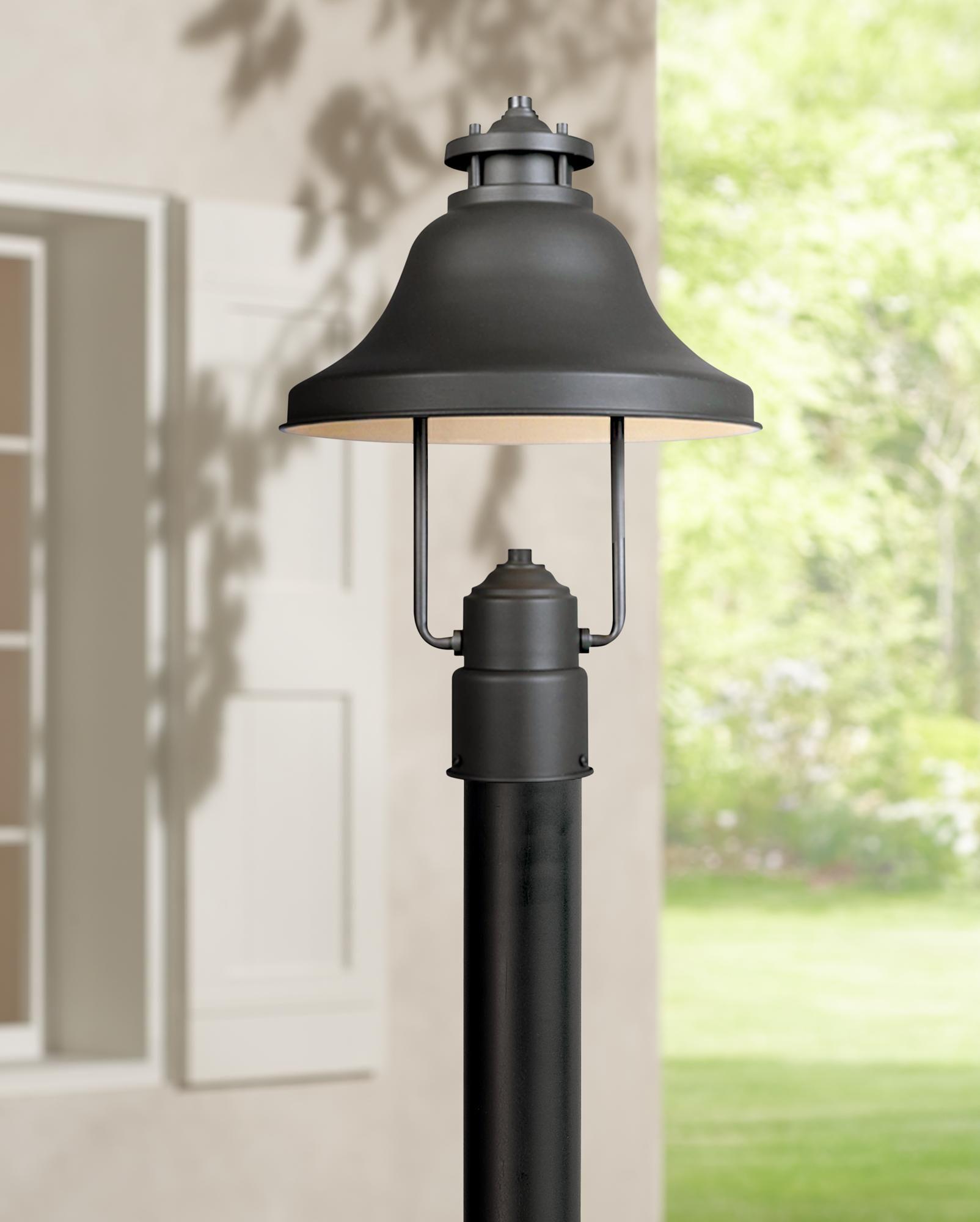 Outdoor Lighting Bayport Collection Dark Sky 15 1 4 High Outdoor Post Light Outdoor Post Lights Post Lights Outdoor Lamp Posts