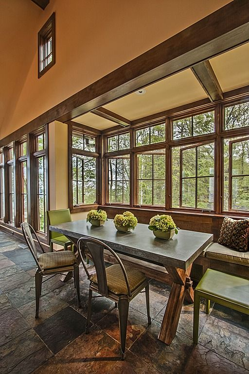 Rustic Dining Room   Found On Zillow Digs