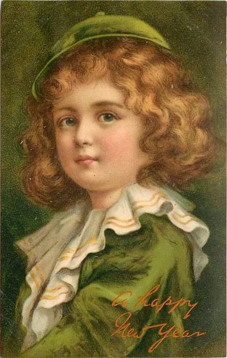 Child in green, 1907
