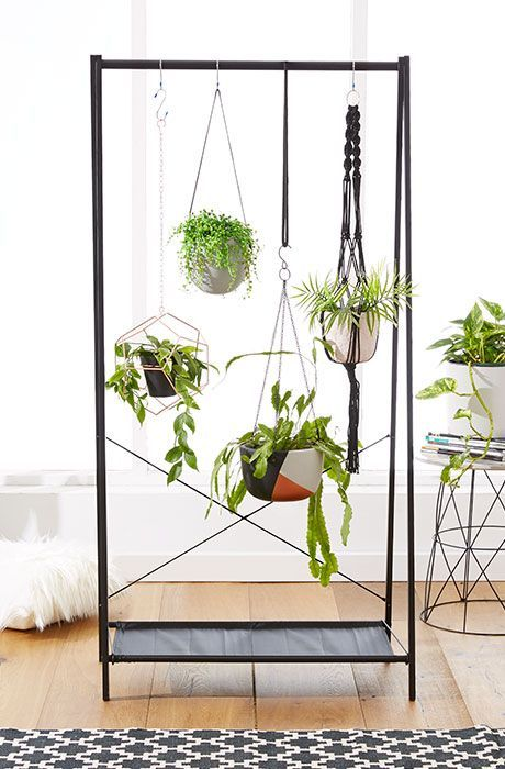 Metal Hanging Plant Stand Part - 35: 20 DIY Plant Stands