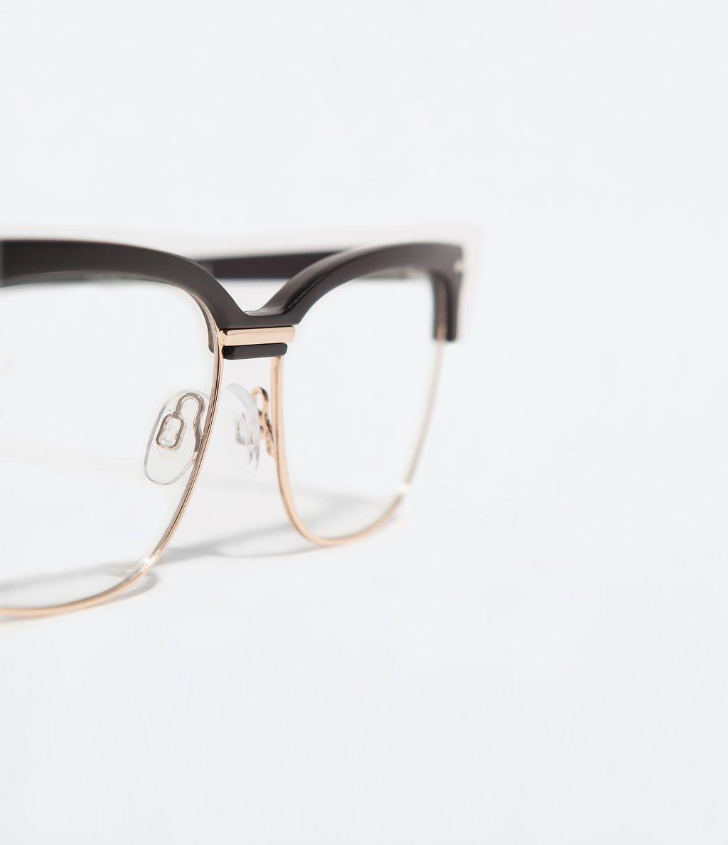 Réduction 99066 375b3 ZARA - HOMME - LUNETTES MONTURE MÉTALLIQUE | Sunglasses ...
