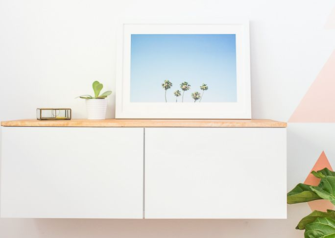 Credenza From Ikea : Diy ikea hack floating credenza hacks and