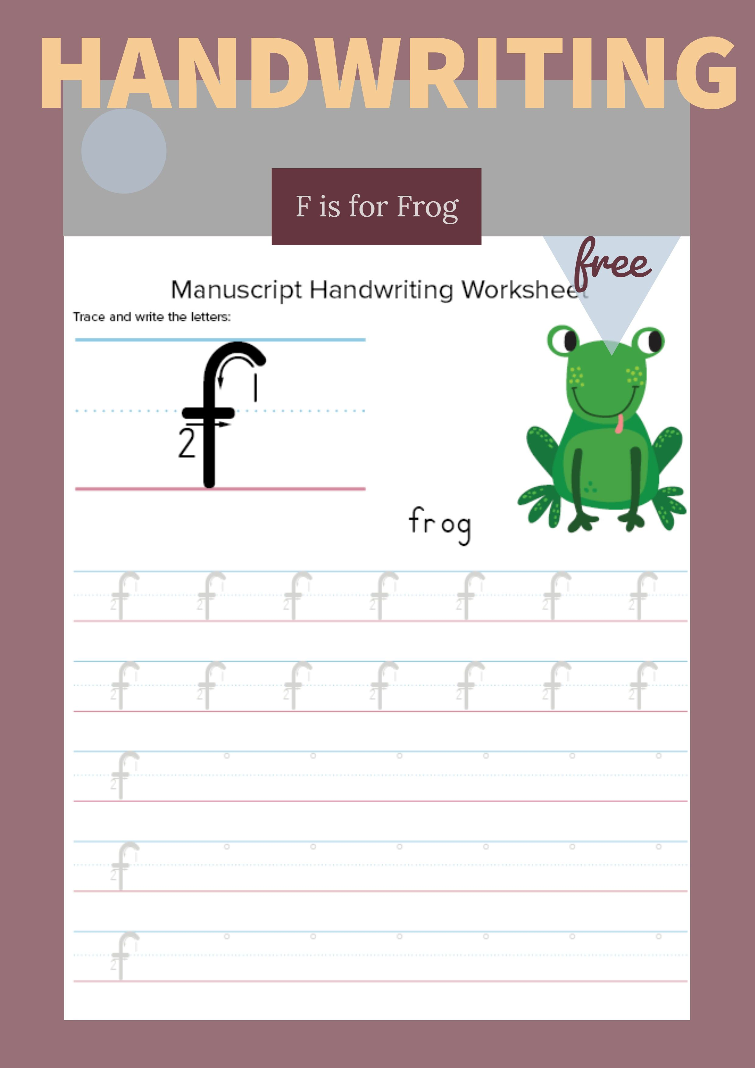 Tracing And Writing Letter F Primarylearning Org Handwriting Practice Free Free Homeschool Resources Teaching Homeschool [ 3509 x 2480 Pixel ]