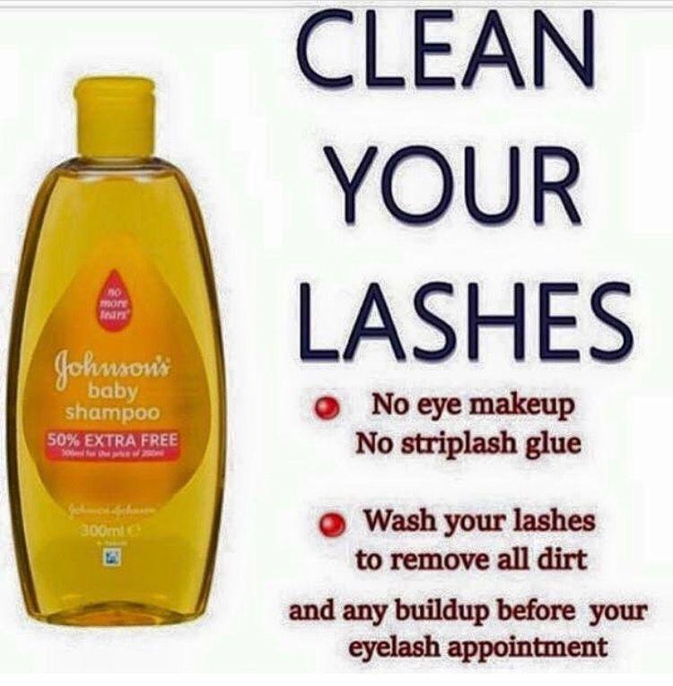 Eyelash Extensions by Jasmin Drain Baby shampoo, Shampoo