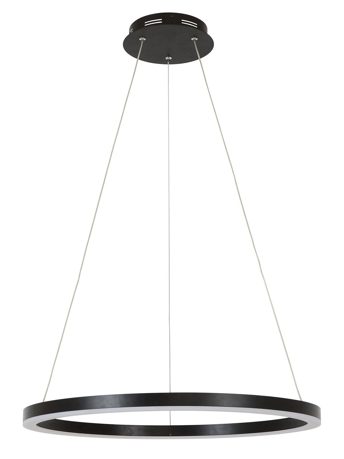 Lucci Connect Circa Ii Ring Led 600mm Dimmable Smart Pendant In