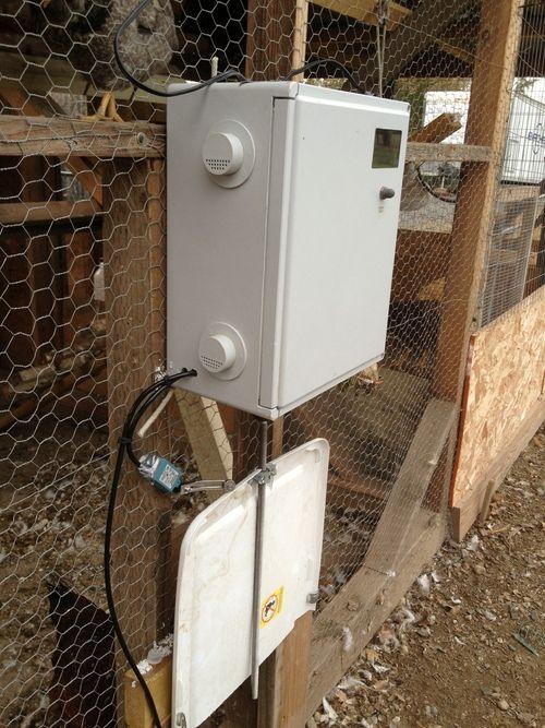 Home Made Automatic Chicken Door Open Close Mechanism