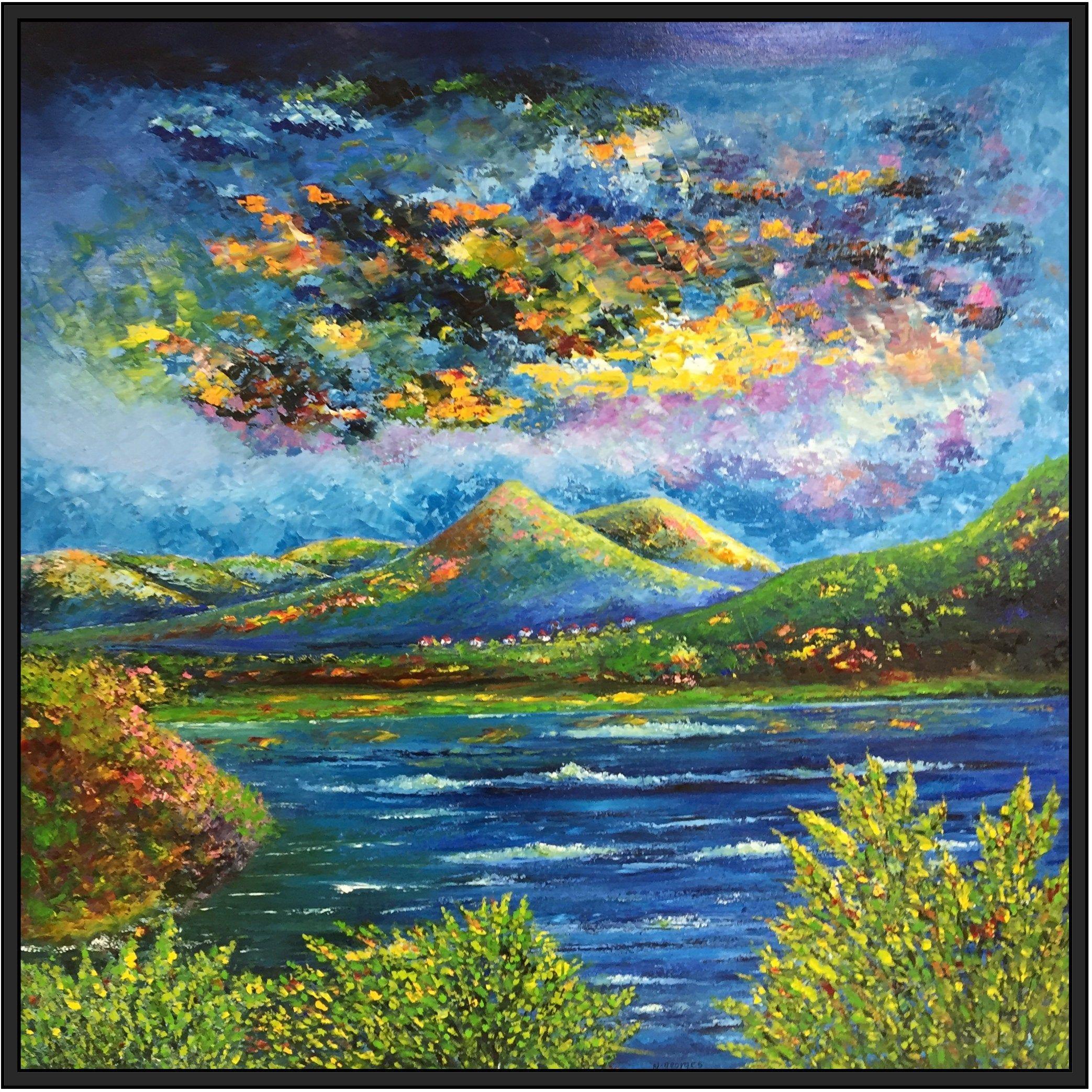 Landscape Oil Paintings Canvas