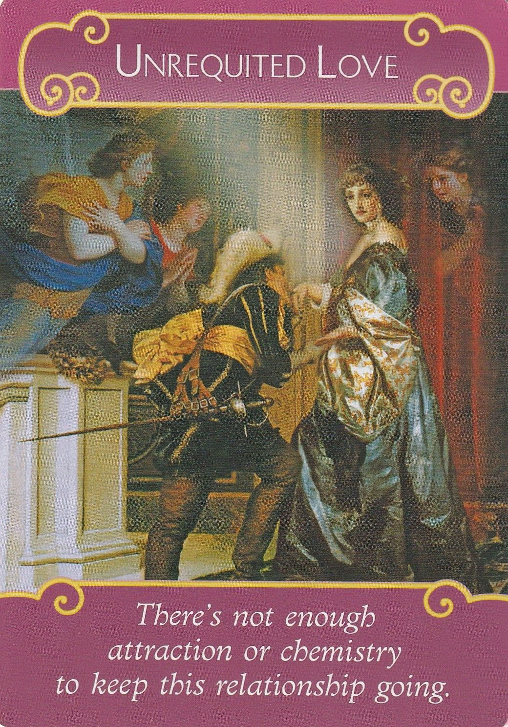 THE ROMANCE ANGELS ORACLE CARDS BY DOREEN VIRTUE