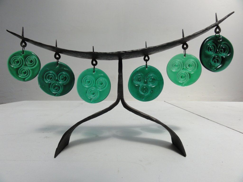 Eric hoglund wrought iron candelabrum for boda sweden us at