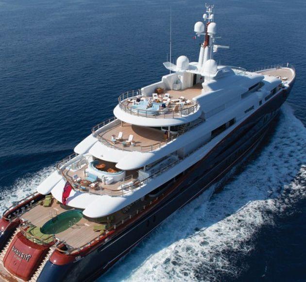 Oceanco Nirvana Yacht by Headlines & Heroes | Boats I would