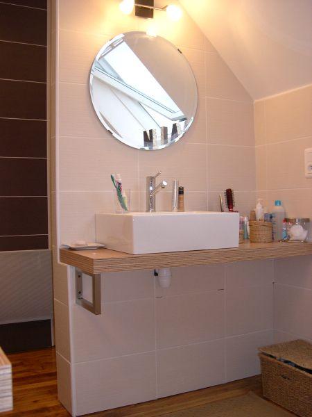 Salle de bain à Plogonnec réalisée par ALEXANDRE - LE BERRE Salle - Photo Faience Salle De Bain