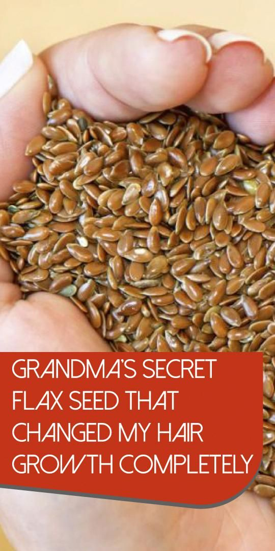 Grandma S Secret Flax Seed That Changed My Hair Growth Completely