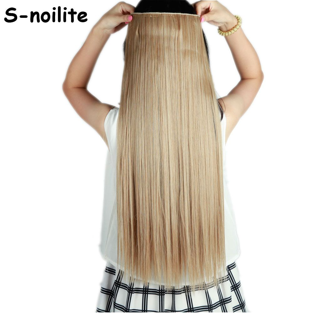 Light ash brown mix bleach blonde long 66cm straight clip in 34 light ash brown mix bleach blonde long straight clip in full head hair extensions real thick synthetic hair extentions pmusecretfo Image collections